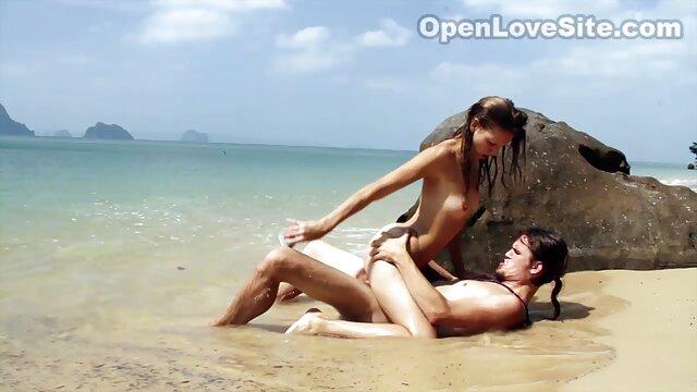 Chica españolas rubias follando pelirroja con pecas le hizo un regalo sexy al chico